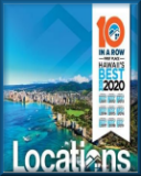 Locations LLC first place-Hawaii's Best for 9 years in a row